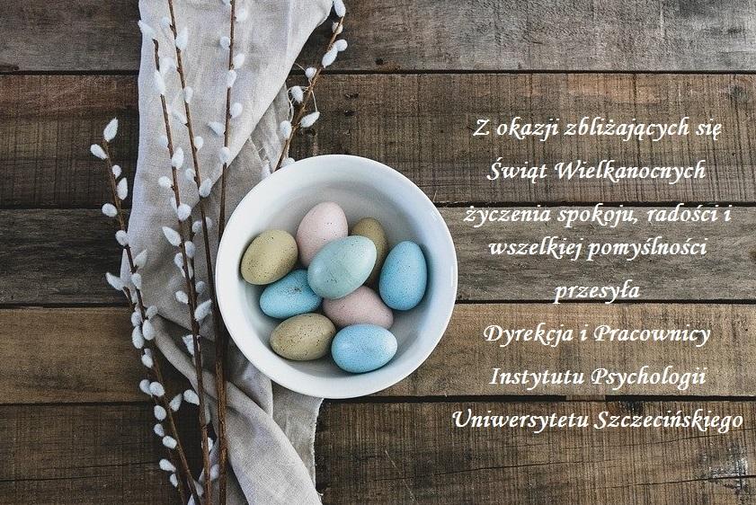 Życzenia z okazji zbliżających się Świąt Wielkanocnych